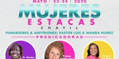 Mujeres Estacas Mayo 22, 23 y 24 2020