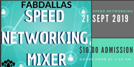 FABDALLAS Meet and Greet Business Speed Networking tickets