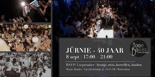 JÜRNIE - 40 JAAR  8 SEPT   17:00-21:00