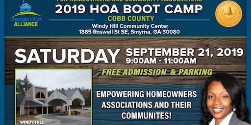 4th Annual Cobb HOA Bootcamp