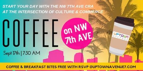 Coffee on Seventh w/  Uptown Avenue 7 tickets