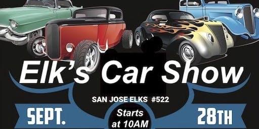 San Jose Elks Charity Car Show