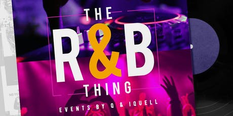 The R&B Thing tickets