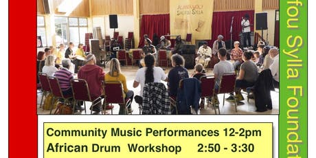Drum Workshop 12th Salifest tickets