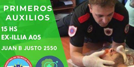 TALLER DE PRIMEROS AUXILIOS entradas