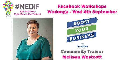NEDIF 2019 - Facebook Workshops in Wodonga