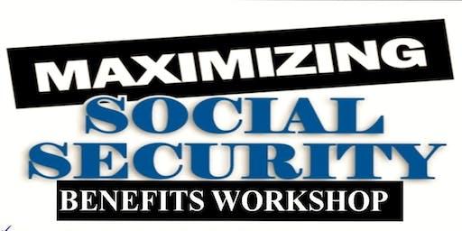 Social Security Maximization Strategies and Complimentary Dinner - Menifee