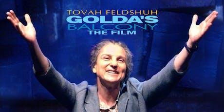 """Golda's Balcony, The Film"" CT Premiere Recep.  With Prod: David Fishelson tickets"
