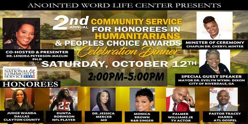 2nd Annual Community Sevice For Humanitarian & People Choice Awards