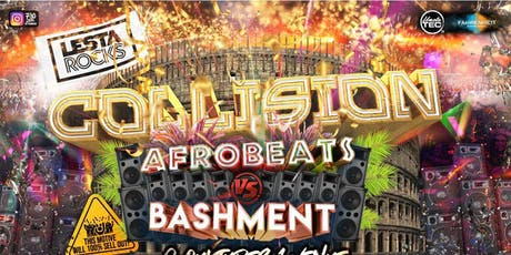 Collision : Afrobeats Vs Bashment tickets