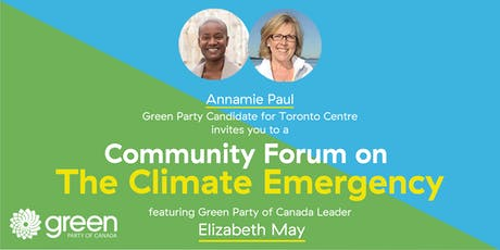 Community Forum on the Climate Emergency tickets