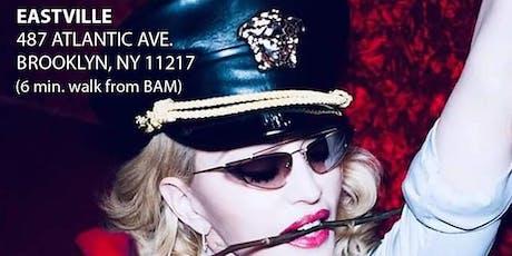 Madonna Madame X Tour After Show Dance Floor Party Oct 12 @ EastVille 11pm tickets