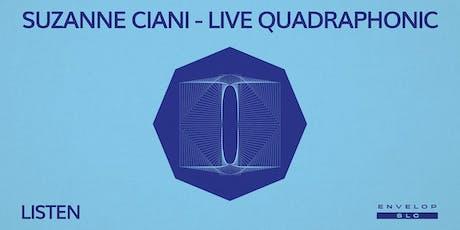 Suzanne Ciani - LIVE Quadraphonic : LISTEN tickets