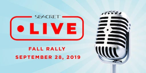Seacret  LIVE  Fall Rally