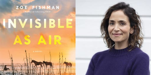 Coffee, Confections, Conversation with Author ZOE FISHMAN
