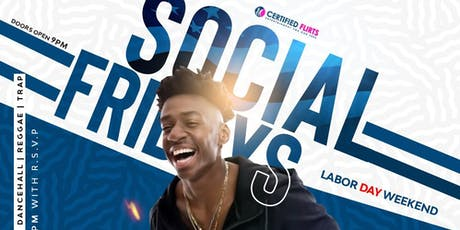 Social Fridays Happy Hour tickets