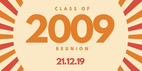 CHS 2009 Leavers' Ten Year Reunion tickets