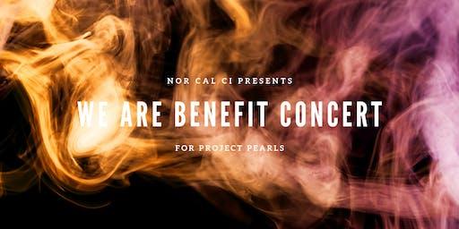 WE ARE Benefit Concert