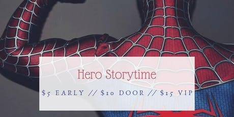 Storytime with a Hero tickets