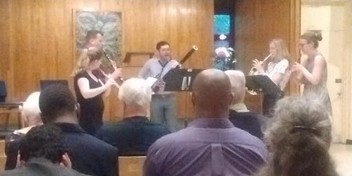 Davies Concert with the District 5 Woodwind Quintet