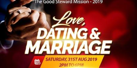 Love, Dating & Marriage (Original) - Good Steward event 2019 tickets
