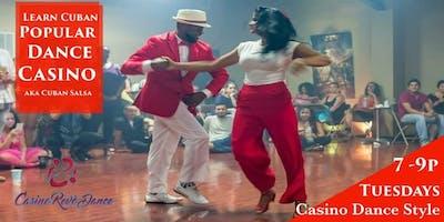 """Cuban Dance Classes: Casino dance aka """"Cuban Salsa"""""""