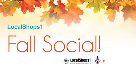 LocalShops1 Fall Social! tickets