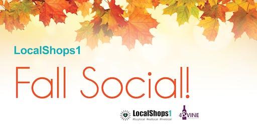 LocalShops1 Fall Social!