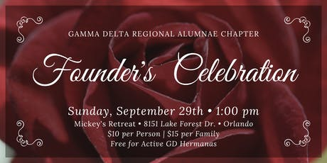 Gamma Delta's Founders Day tickets