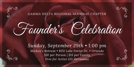 Gamma Delta's Founders Day