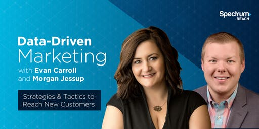 Data Driven Marketing Seminar - Strategies & Tactics to Reach New Customers