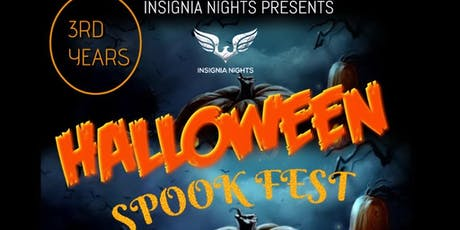 insignia nights halloween spook fest 3rd Years tickets