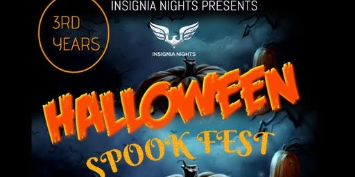 insignia nights halloween spook fest 3rd Years