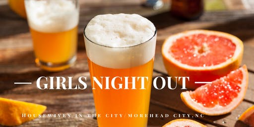 Girls Night Out Rocks Networking Social @ Crystal Coast Brewing 9. 26.19