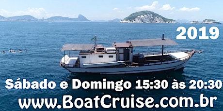 Passeio Exclusivo de Saveiro(Sáb.e Domingo)TARDE 2019 Marina da Glória, Rio ingressos