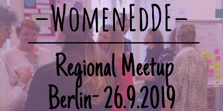 WomenEdDE Berlin Regional Meeting- Focus on Confidence tickets