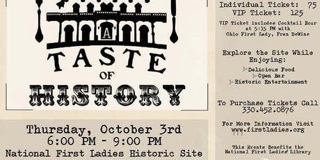 A Taste of History  tickets