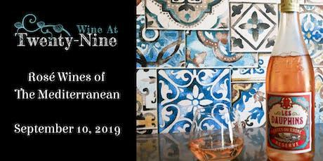 Rosé Wines of The Mediterranean tickets