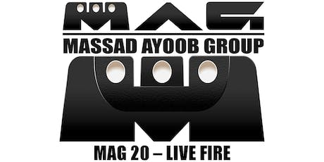 MAG 20 – Live Fire Course tickets