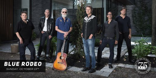 Blue Rodeo - Sunday October 13th