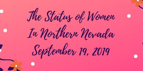 Status of Women in Nevada Meets Sept 19, 2019 tickets