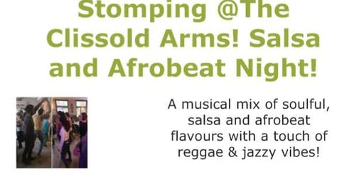 Stomping @The Clissold Arms! Salsa and Afrobeat Night!