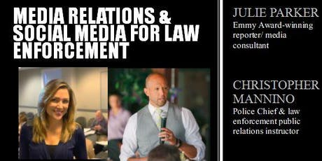 Media Relations & Social Media for Law Enforcement Training  tickets