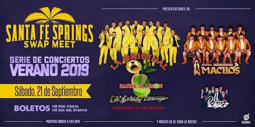 La Original Banda El Limon con Banda Machos y Banda Pachuco
