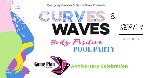 Curves and Waves Pool Party Fundraiser