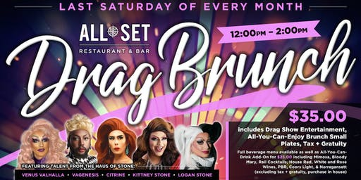 ALL SET DRAG BRUNCH
