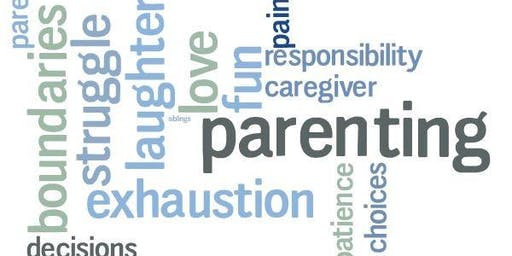 Positive Parent Education - Tuesday evenings for 7 weeks