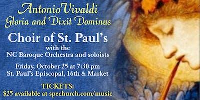 Choir of St. Paul's Concert: Vivaldi's Gloria and Dixit Dominus