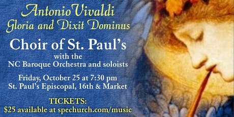 Choir of St. Paul's Concert: Vivaldi's Gloria and Dixit Dominus tickets