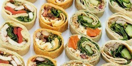 Paleo and Vegan Wraps Sampling